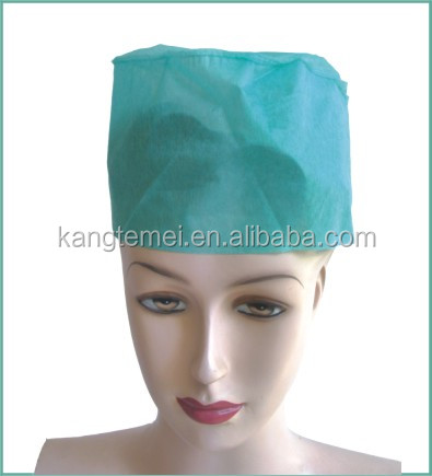 OEM non woven disposable paper nursing cap