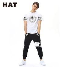 Wholesale Bulk White Cotton Polyester Blend Slim Fit T-Shirts