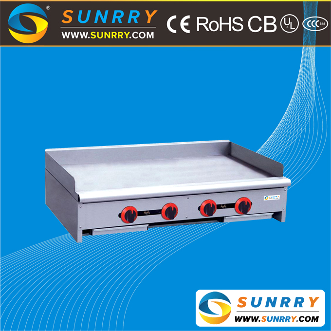 2017 CE proved new 4 burners and 2 drawers commercial electric teppanyaki grill and commercial electric griddle equipment