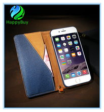 Special card slot leahter cell phone case for iphone6/6s/6 plus,7/7 plus wtih best PU material and reasonable price