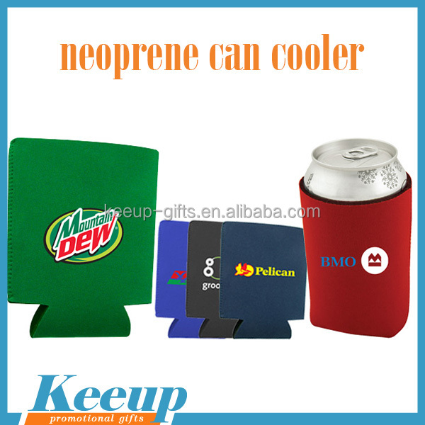 Sublimation Tempreature Collapsible Stubby Cooler Holder Neoprene Bottle Cooler