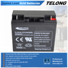 12volt 18ah Valve Regulated dry battery for UPS System