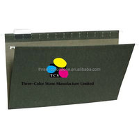 Legal Size Hanging Folders, 100% Recycled, Assorted Packing,5 tab