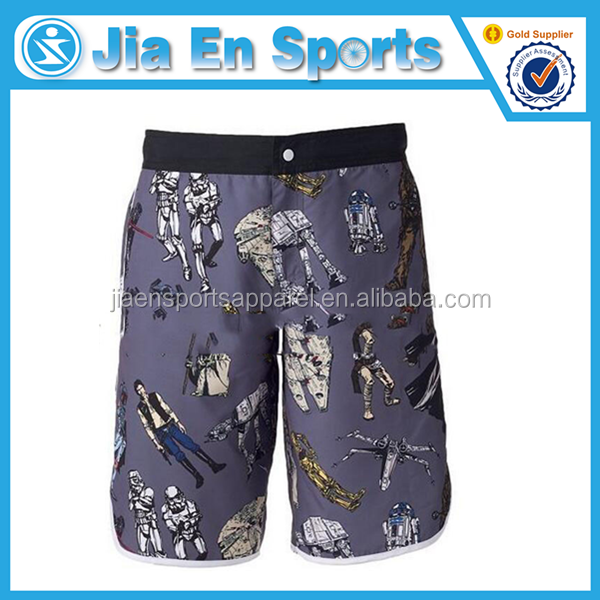 wholesale sublimation men beach shorts surf100 polyester BO146