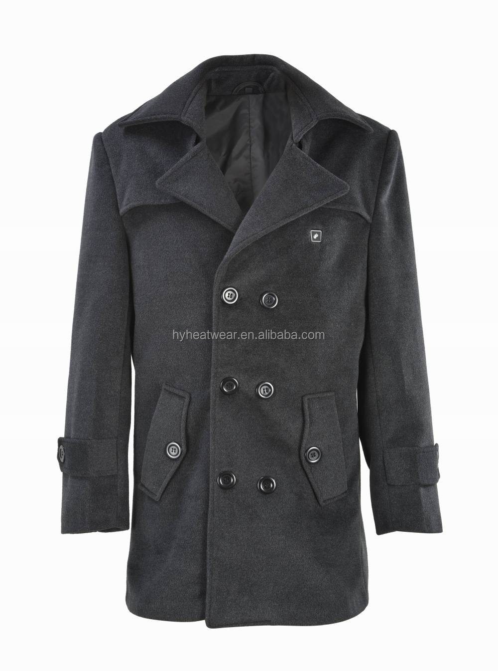2014 European Fashion Winter Coats Battery Heated Winter Coats