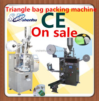 tea bag packing machine with the electric werigher as the feeding and measuring