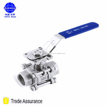Wear Resistance OEM Ball Valve With ISO5211 Mounting Pad Kuresel Vana