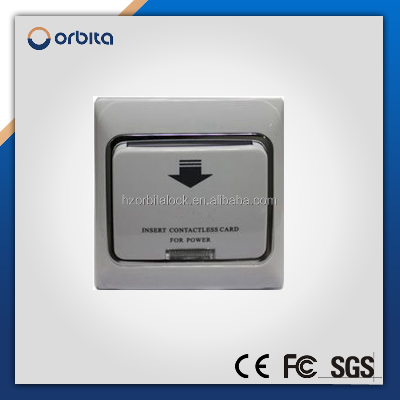 hotel inserting card energy saving switch