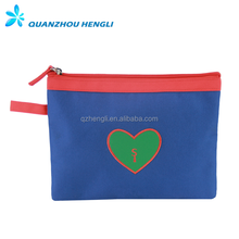Eco-friendly wholesale cosmetic bag pouch bag cosmetic pu