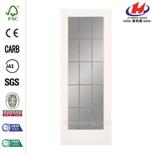 JHK-G24 Sale Pantry Frosted Glass Kitchen Partition Cabinet Interior Doors