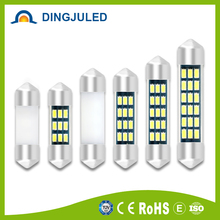 Auto interior led light 12v 24v led auto light festoon 31mm 36mm 39mm 42mm Led Light Festoon