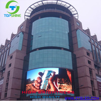 outdoor full color smd led display full sexy video 1080p full HD led screen p10 led module price