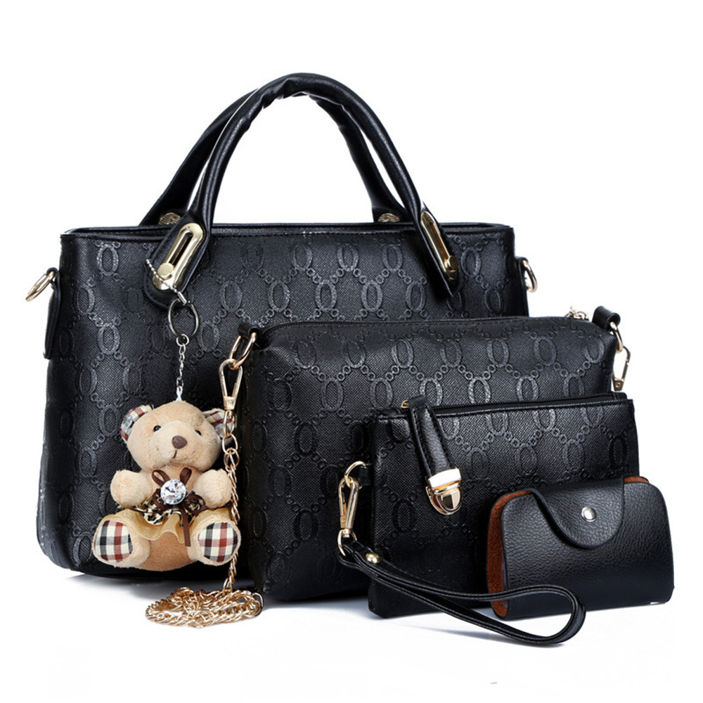 New style multifunctional women handbag messenger bag card wallet coin purse bag