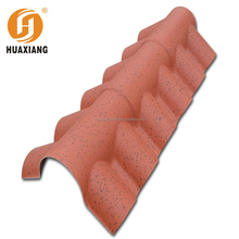 2017 new product Artificial natural stone slate roof tiles pvc roofing