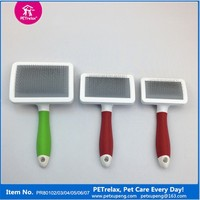 Best Selling new Pet Products Dog slicker Brush in Plastic Handle and Mainbody Import from China