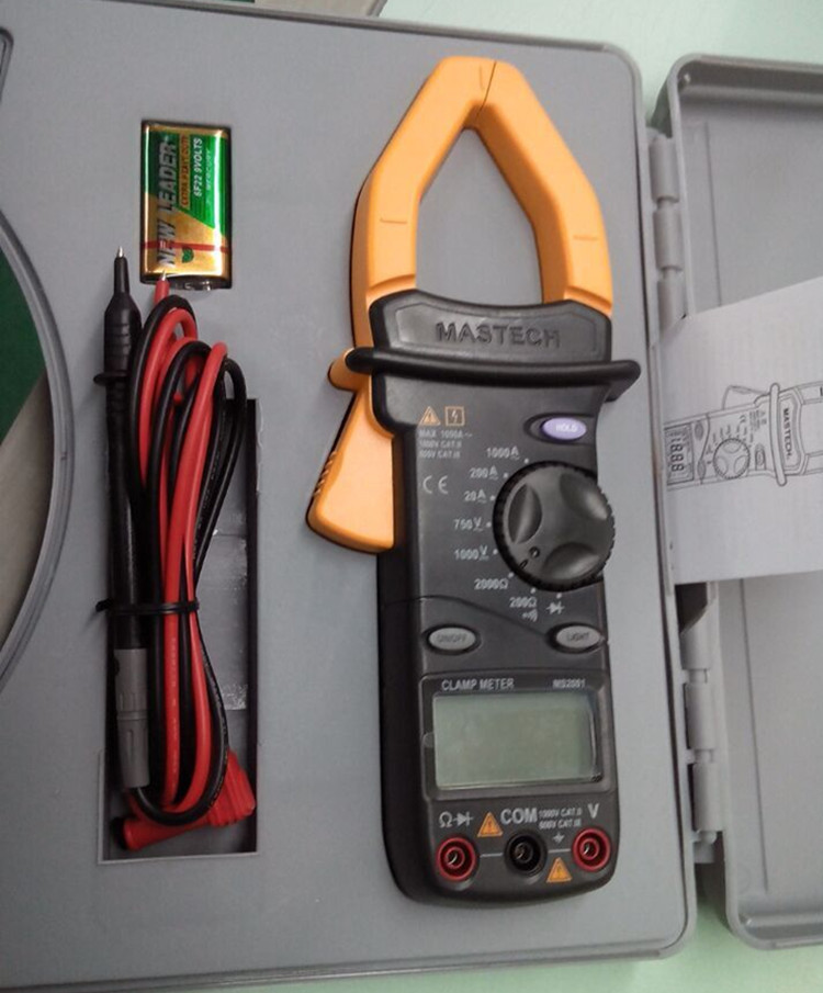 MS2001 Mastech 1000V Digital Clamp meter