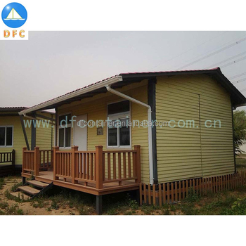 Customized New Shipping Container Villa House Modular Container Garden View Cottage
