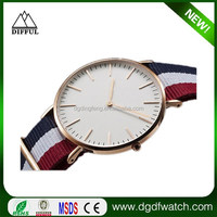New arrival sinple style man nato/nylon watch,simple man Koera style watch,wrist watches for men
