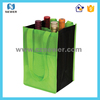 New design nice looking pretty tote plain latest price custom print pvc wine bottle bags holder with drivers