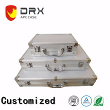 Customizable High Quality Aluminum Alloy Tool Case Equipment Instrument Carrying Box with Different Sizes