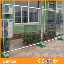 China supplier 6ft galvanized pvc coated temporary fence panels for dogs