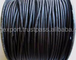 1.5mm Round Leather Cord From BORG EXPORT / Round Leather Cord 1.5 mm