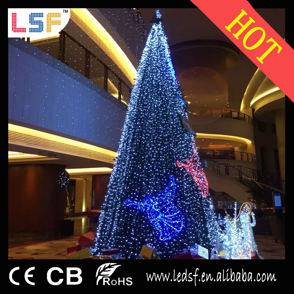 Hot sale shop square outdoor decoration rgb 4m DC12V 12MM led pixel light string