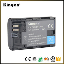 Kingma batería de la Cámara totalmente decodificado LP-E6 para Canon <span class=keywords><strong>EOS</strong></span> <span class=keywords><strong>7D</strong></span> 60D 5D Mark III