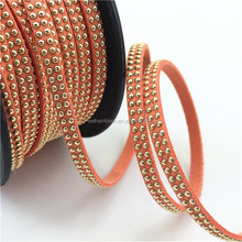 Excellent quality top sell flat leather cord 3mm