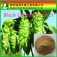 High quality Cimicifugae racemosae rhizomev powder