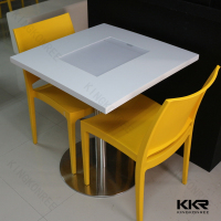 quartz stone top dining tables kitchen table chairs