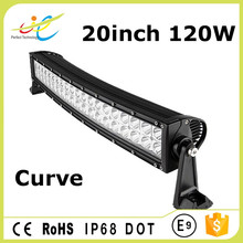 120W 22 inch lighting comb beam curved LED driving light bar for SUV ATV 4x4 truck off-road vehicle