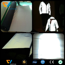 China Safety colourful 3M reflective spandex fabric for clothing
