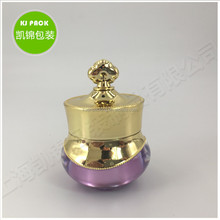 eye cream luxury packaging plastic empty 5g acrylic cosmetic jar 5ml