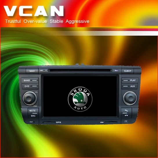Special Car DVD Player for VW skoda , Octacia car