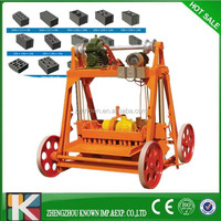 Semi automatic hydraulic egg brick cement hollow block making machine price