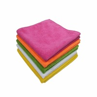 Microfibre cleaning towel super absorption fast dry 80%polyester 20%polyamide custom size ,logo,color