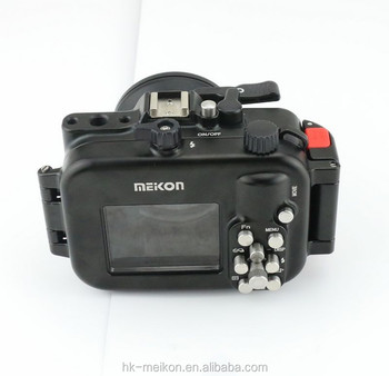 RX100 Meikon hot sale Aluminium 100m/325ft waterproof camera housing for RX100 iii/RX100 M3