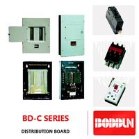BD-C SERIES CONSUMER UNITS OR DISTRIBUTION BOARDS WITH MAIN SWITCH