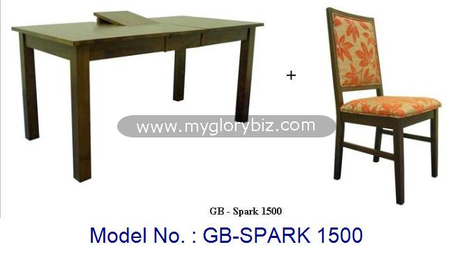 Wooden Dining Table and Chair