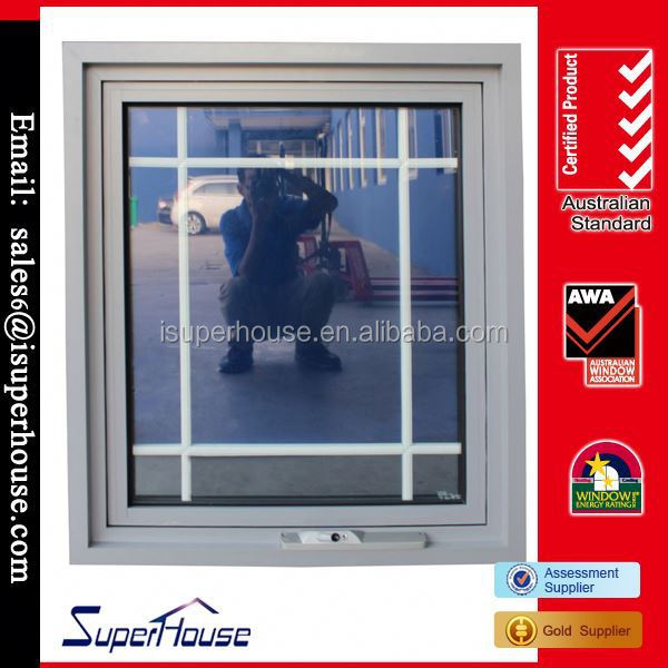 Hot Sale aluminium grille doors and windows with AS2047 Made in China