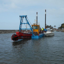 New Stock 2000m3/H Sand Mud Cutter Suction Dredger For Sale