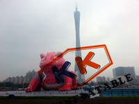 22m High Inflatable Toad Model, high quality advertising inflatable model