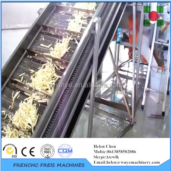 industrial potato chips making machine/potato chips machine/potato chips fryer machine