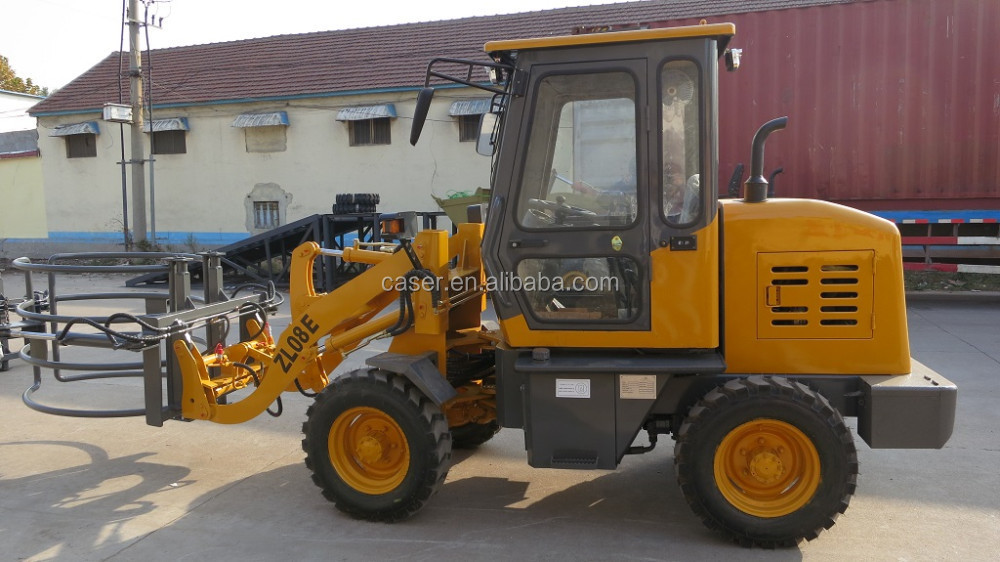 Mini wheel loader earth moving equipment ZL06F with CE certificate