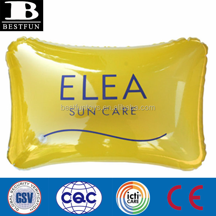 Promotional Inflatable Square Pillow for advertising