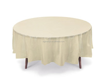 Factory Wholesale hotel restaurant banquet party table linens tablecloth wedding table cover round table cloths