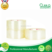 retail online shopping free samples printing labeles painting transparent bopp tape with CE certificate