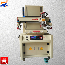 DX-4060P electric drive flat bed silk screen printing machine
