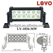 Dual row Auto Truck Light Offroad Light 10 inch 36w led light bar